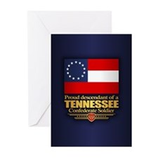 Tennessee Proud Descendant Greeting Cards