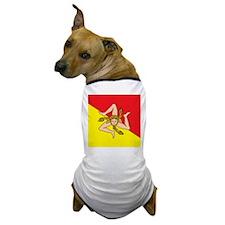 SICILIAN FLAG Dog T-Shirt