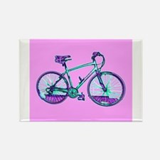 Bike Cycling Bicycle Pink Wondrous Velo Ev Magnets