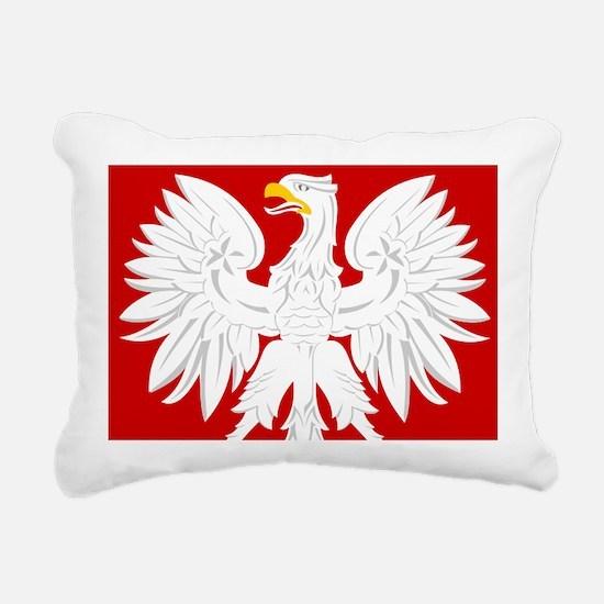 Arms of Poland Rectangular Canvas Pillow