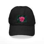 ROSE FLOWER Black Cap