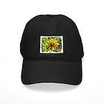 WILD FLOWER FRAMED Black Cap