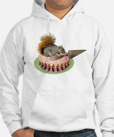 Squirrel Cutting Cake Hoodie