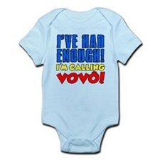 Had Enough Calling Vovo (Grandpa) Body Suit