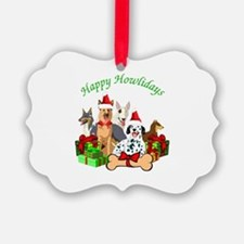 Howliday Dogs Ornament