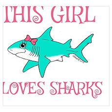 Shark Girl Poster
