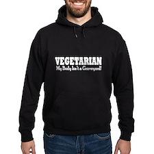 Vegetarian - My Body Isn't a Graveyard White Text