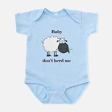 Baby don't herd me Body Suit