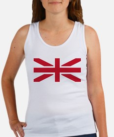 England and North Ireland Flags Tank Top
