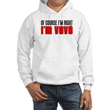 I'm Right I'm Vovo (Grandma) Hoodie