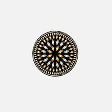 Hypnotic Circle Mini Button