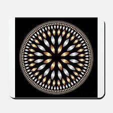 Hypnotic Circle Mousepad