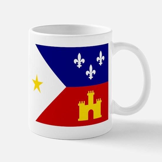 Acadiana Flag Louisiana Mug