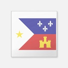 Acadiana Flag Louisiana Sticker