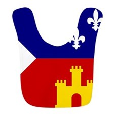 Acadiana Flag Louisiana Bib