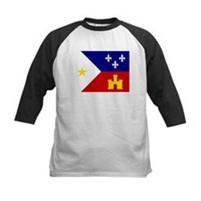Acadiana Flag Louisiana Baseball Jersey