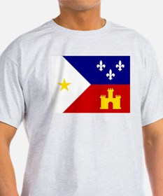 Acadiana Flag Louisiana T-Shirt