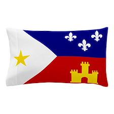 Acadiana Flag Louisiana Pillow Case