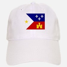 Acadiana Flag Louisiana Baseball Baseball Cap