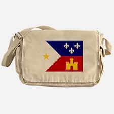 Acadiana Flag Louisiana Messenger Bag