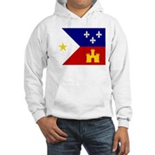 Acadiana Flag Louisiana Hoodie