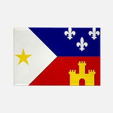 Acadiana Flag Louisiana Magnets