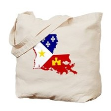 Acadiana State of Louisiana Tote Bag