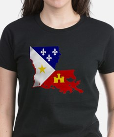 Acadiana State of Louisiana Tee