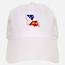Acadiana State of Louisiana Baseball Baseball Cap