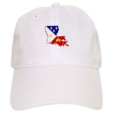 Acadiana State of Louisiana Baseball Cap