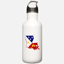 Acadiana State of Loui Sports Water Bottle