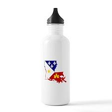 Acadiana State of Loui Water Bottle