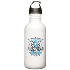 Lymphedema For My Hero Sports Water Bottle