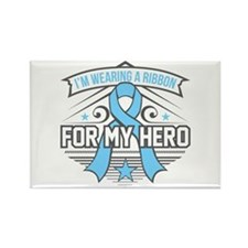 Lymphedema For My Hero Rectangle Magnet