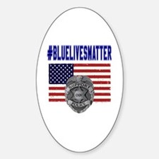 Unique American police Decal