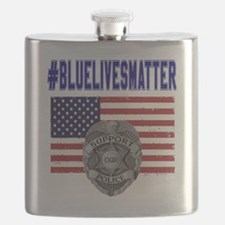 Funny Law enforcement Flask