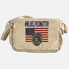 Funny Enforcement Messenger Bag