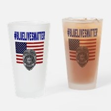 Cute American patriot Drinking Glass