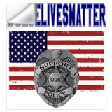 Enforcement Wall Decals