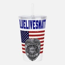 Cool Law enforcement Acrylic Double-wall Tumbler