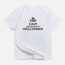 Keep calm and escape to Wells Harbo Infant T-Shirt