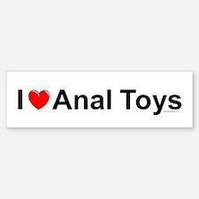 Anal Toys Bumper Bumper Sticker