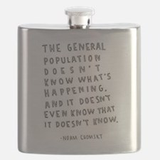 Noam Chomsky quote Flask