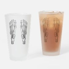 Foot Bones Drinking Glass