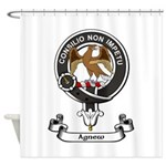 Badge - Agnew Shower Curtain