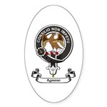 Badge - Agnew Sticker (Oval 50 pk)