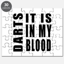 Darts it is in my blood Puzzle