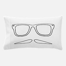 Villain Mustache Face Pillow Case