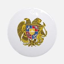 Armenian Coat of Arms Round Ornament