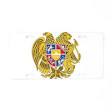 Armenian Coat of Arms Aluminum License Plate
